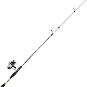 Abu Garcia Ike Dude Spinning/Spincast Fishing Reel & Rod Combo