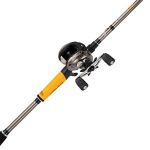 Abu Garcia Jordan Lee Low Profile Baitcast Reel and Fishing Rod Combo