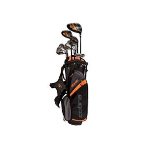 2017 Cobra King Junior Set (Junior, Graphite, Junior Flex, Driver-Fairway-Hybrid-6-PW, SW-Putter-Bag)