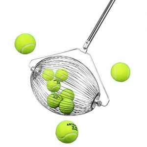 Yaegoo 40 Ball Collector Mini | Ball Picker Upper for Tennis, Pickleball, Padel and More | Holds 40 Tennis Balls or Pickleball Balls