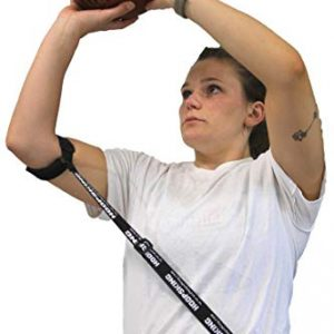 HoopsKing Straight Shot Basketball Shooting Training Aid Keeps Elbow in & Follow Thru Straight