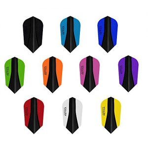 5 x Sets Harrows Retina X Mixed Colour Dart Flights Slim