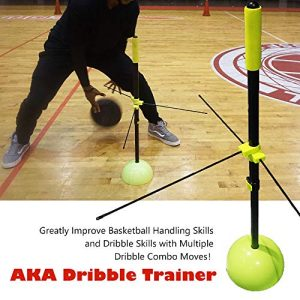 AKA Basketball Dribble Trainer | Basketball Training Dribble Stick | Basketball Dribble Training Equipment