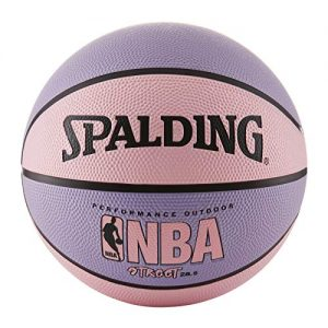 Spalding NBA Street Basketball 28.5″ – Pink/Purple